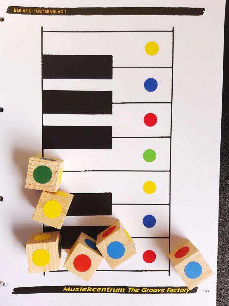 Muziekles voorbeeld Groove Factory